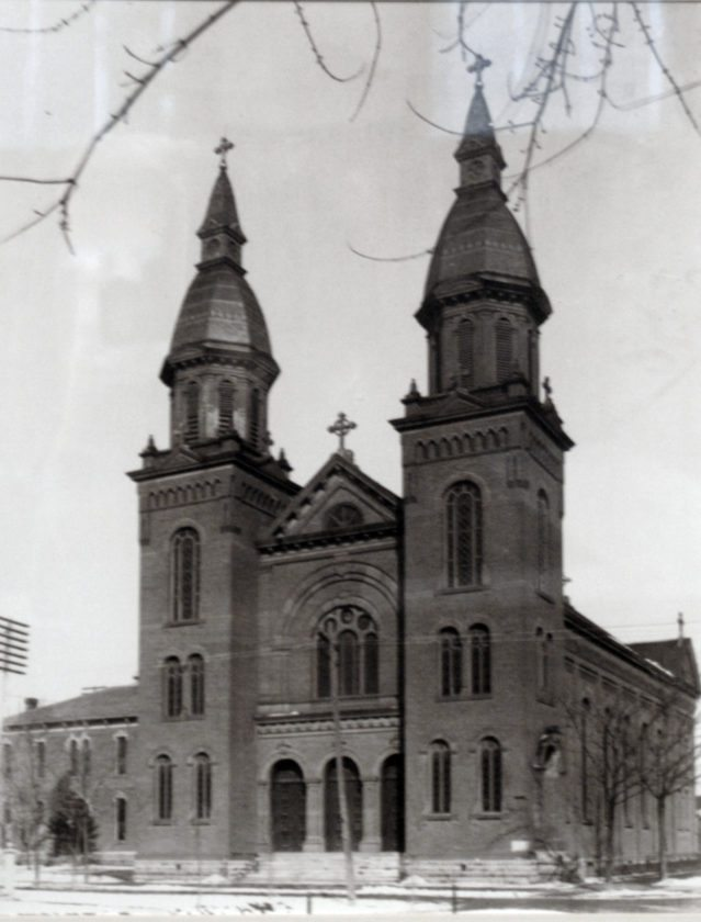 This photo shows the former St. Paul Catholic Church, which was built in 1886 at Washington Boulevard and Fairfield Avenue. The church was demolished in 2004. (News-Sentinel.com file photo)
