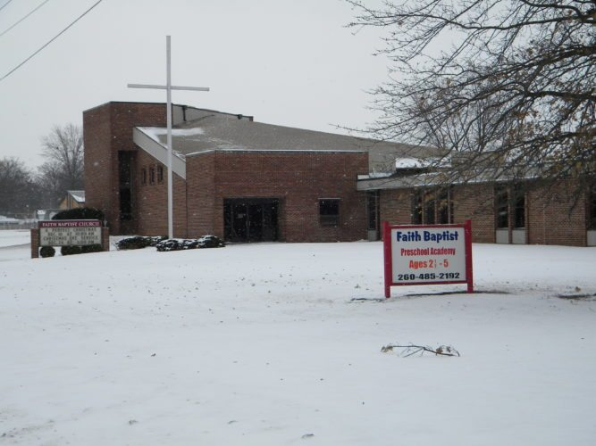 Faith Baptist Church, 6600 Trier Road, will celebrate its 50th anniversary with a special worship service at 10 a.m. Sunday at the  church. (By Kevin Kilbane of News-Sentinel.com)