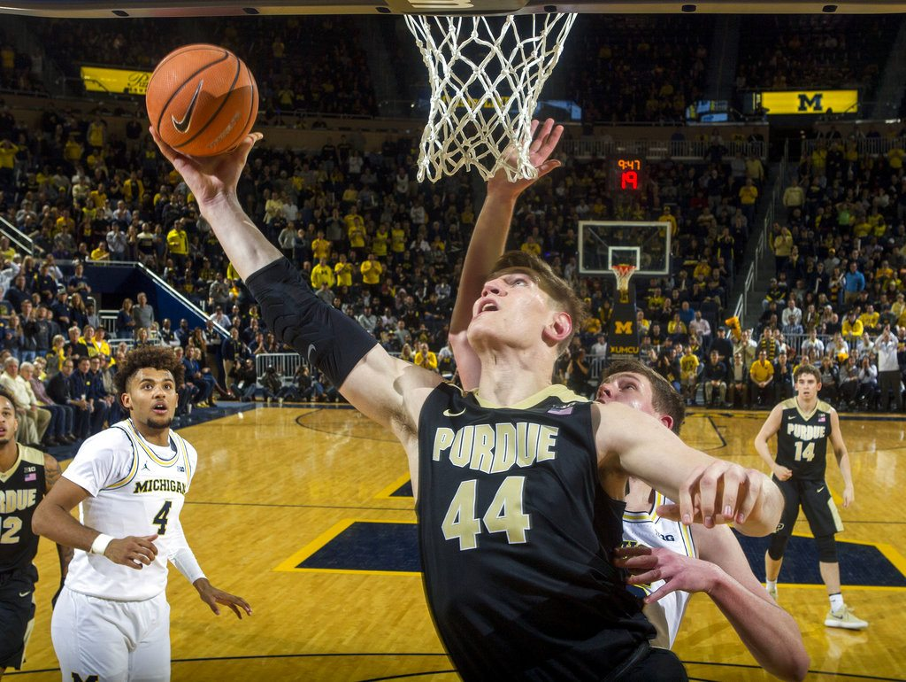 Newly Top-5 Purdue escapes Ann Arbor with a win