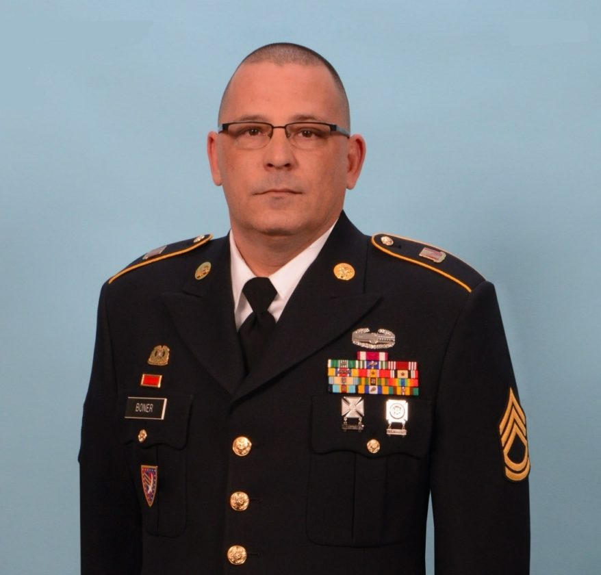 Gov. Eric Holcomb is directing flags in Allen County to be flown at half-staff to honor Indiana National Guardsman Sgt. 1st Class Mark Boner's funeral Monday. (Courtesy photo)
