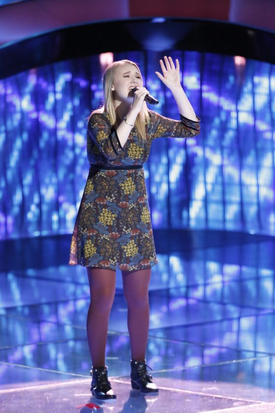 """Fort Wayne native and """"The Voice"""" runner-up Addison Agen will join us for an interview on Facebook Live about noon Wednesday,  and you can submit questions for her to answer by watching on Facebook. (Photo by Tyler Golden/NBC)"""