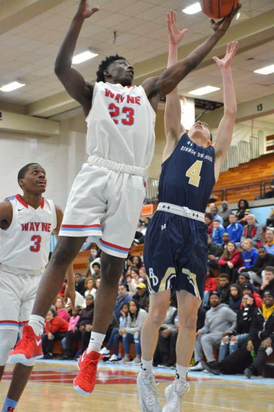 Senior Shaquan Sanders and the Wayne Generals went 3-for-3 in games last week. Can they continue their hot streak on Tuesday at Blackhawk Christian? (By Dan Vance of news-sentinel.com)