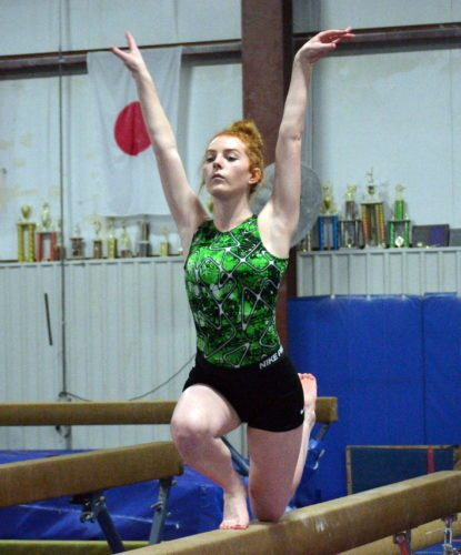 Concordia Lutheran High School senior Lily Friedlich is returning to competition this season after missing last year because of shoulder surgery. (By Blake Sebring of News-Sentinel.com)