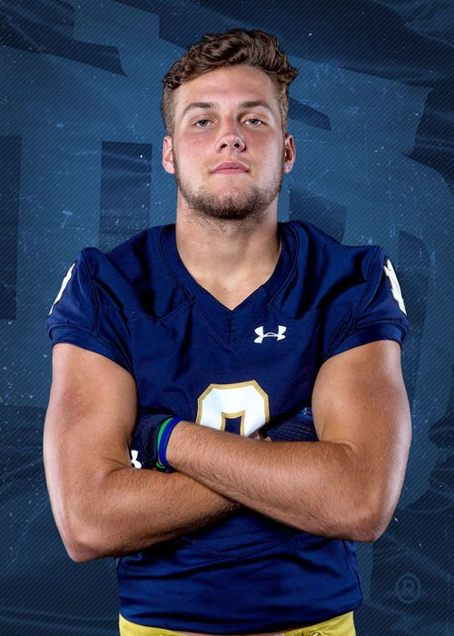 2018 Notre Dame football tight end signee George Takacs