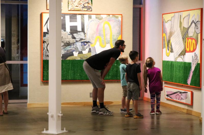 People can ask questions of exhibiting artists and Artlink gallery staff during the Member Morning event 10 a.m.-noon Saturday at Artlink, in the Auer Center for Arts & Culture, 300 E. Main St. (Courtesy photo)