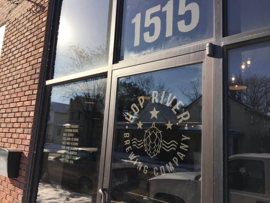 Hop River Brewing Company, 1515 N. Harrison St., will hold its grand opening Feb. 3. (Photo by Lisa M. Esquivel Long of News-Sentinel.com)