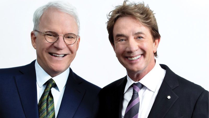 Comedians and friends Steve Martin and Martin Short will appear at the Embassy Theatre on May 18. (Courtesy photo)