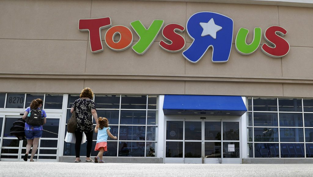 Toys 'R' Us says it will be closing some U.S. stores and converting others to co-branded locations as it continues to deal with its financial restructuring after its bankruptcy filing. (Associated Press file photo)