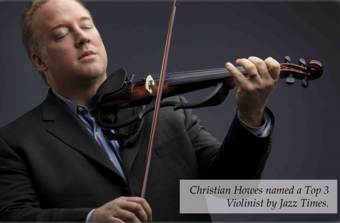 Renowned jazz violinist Christian Howes will perform a concert with Canterbury School musicians at 7 p.m. Feb. 15 in the auditorium at Canterbury Middle School, 5601 Covington Road. The concert is open to the public. (Courtesy photo)