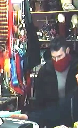 Fort Wayne Police say this man robbed a Goshen Road floral shop on Monday morning. (Photo courtesy of the Fort Wayne Police Department)