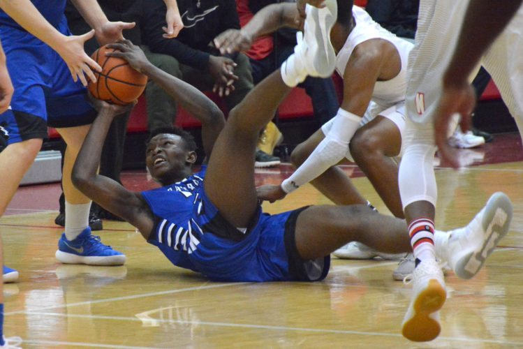 Carroll and North Side — seen here in this year's regular-season game — enter the Class 4A sectional at East Noble as two of the favorites. (By Dan Vance of news-sentinel.com)