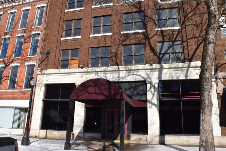 Flash-forward a year or so and the former Flashback on The Landing will become a Utopian Coffee roasters coffeehouse. (Photo by Lisa M. Esquivel Long of News-Sentinel.com)