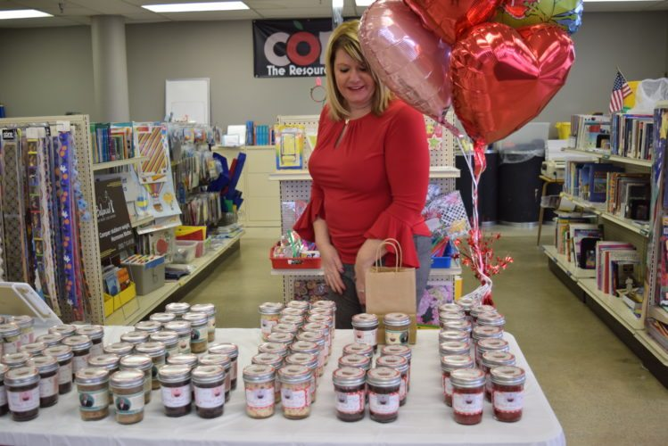 Amber Quinn-Elliott debuts the Wicked Good Cupcakes Fort Wayne franchise she owns with her mother Wednesday at Core, The Resource Center, in Northcrest Shopping Center. (Photo by Lisa M. Esquivel Long of News-Sentinel.com)