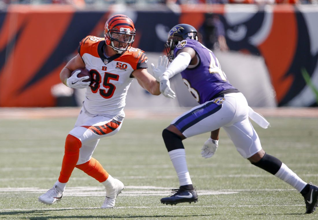Dwenger grad Tyler Eifert signs 1-year deal with Bengals