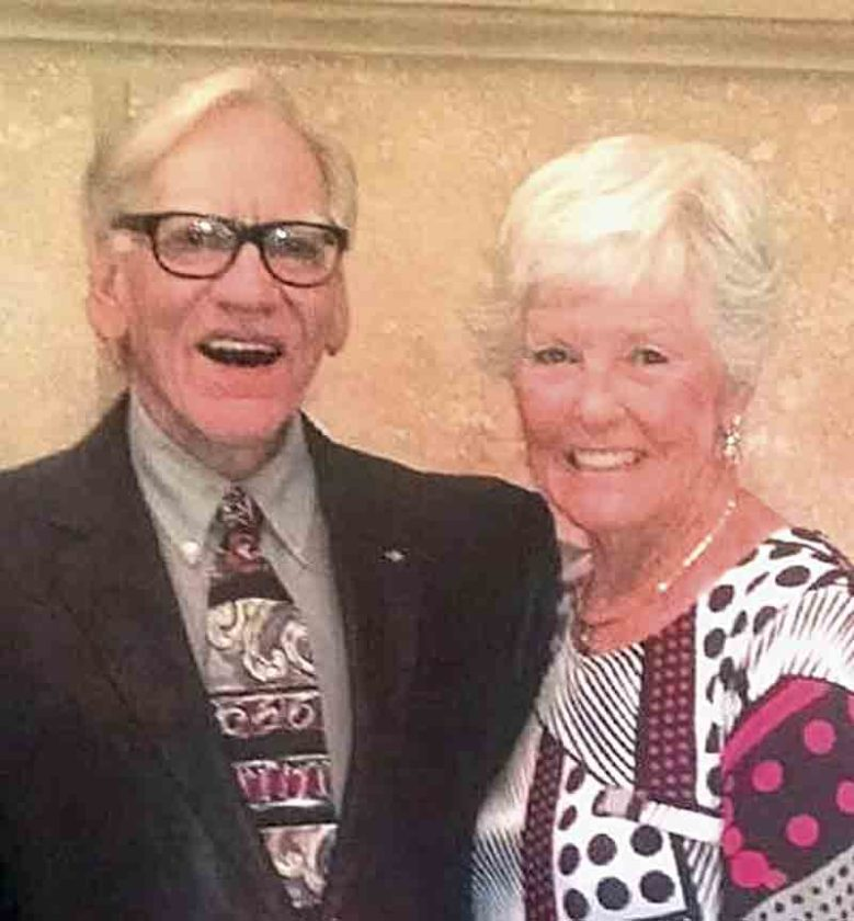Tom Hathaway, Left, And His Wife, B.J., Who Founded Superior Toyota In 1979  In Parkersburg. Tom Hathaway, 76, Died Monday Night. (Photo Provided)