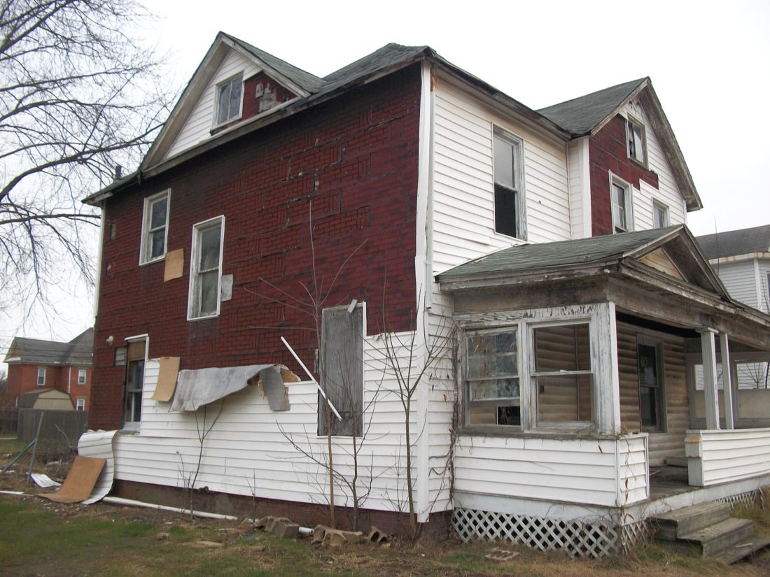 Photo courtesy of Gary Moss This house was demolished recently as part of the city of Parkersburg's efforts to reduce slum and blight.