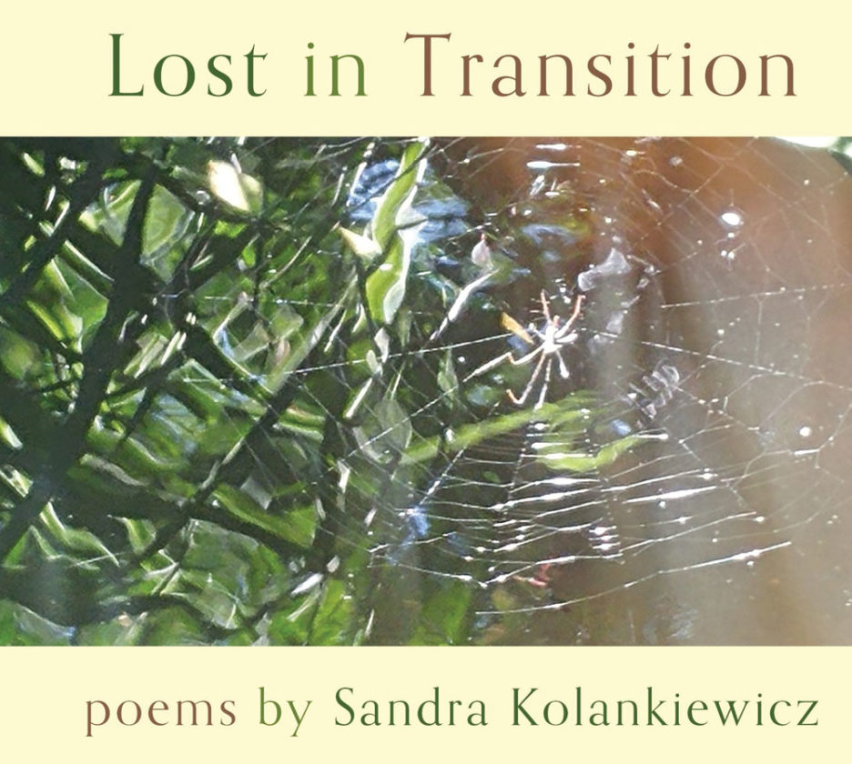 "Photos Provided The cover of ""Lost in Translation,"" Sandra Kolankiewicz's latest chapbook of poems to be published by Finishing Line Press."