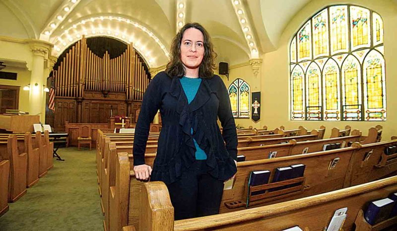 Photo by Jeff Baughan The Rev. Elizabeth Campbell Maleke has pastored the First Presbyterian Church of Williamstown and the Waverly Presbyterian Church for the last six years.