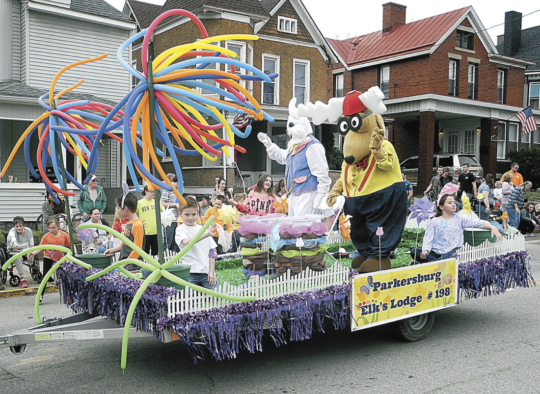 File Photo Wood County Relay for Life participated in last year's Mid-Ohio Valley Easter Parade with a float.