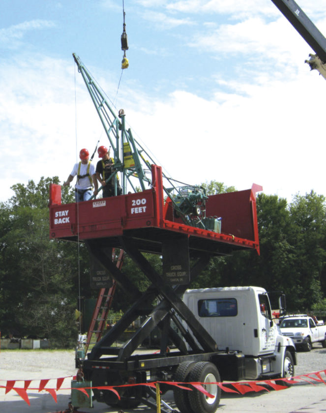 Photo Provided A Tri State Roofing U0026 Sheet Metal Company Training Session  Focused On Hoist