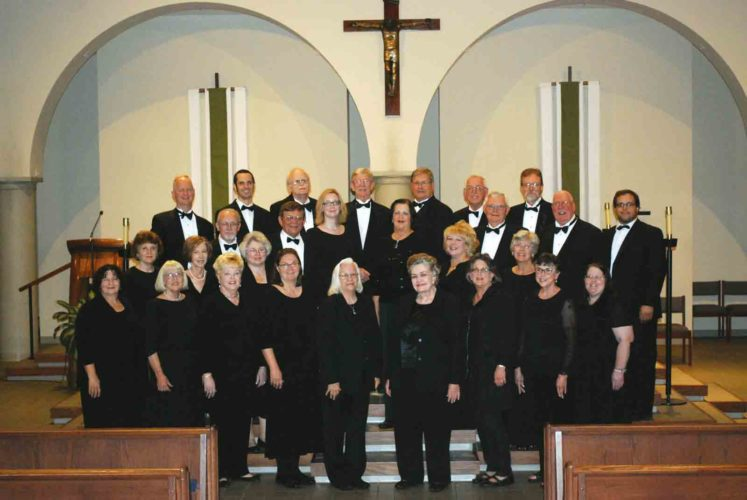 Photo Provided Parkersburg Choral Society will hold its spring concert Sunday.