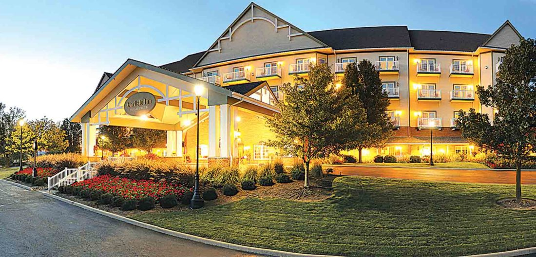 Photo Provided The Amish Getaway Package includes a two-night stay at the Carlisle Inn in Sugarcreek, Ohio.