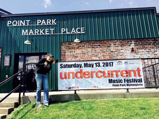 Photo Provided Michelle Waters is bringing Undercurrent Music Festival to Point Park Marketplace in Parkersburg on May 13.