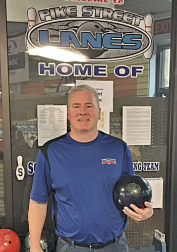 Duane Smith established a new United States Bowling Congress Parkersburg city record when he rolled an 878 series at Pike Street Lanes. Photo provided.