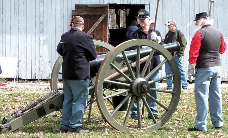 Photo Provided Civil War Living History Day will be 10 a.m. to 3 p.m. May 27 at Henderson Hall in Boaz on River Road off West Virginia 14. Re-enactors from Carlin's Battery will portray life during the Civil War.