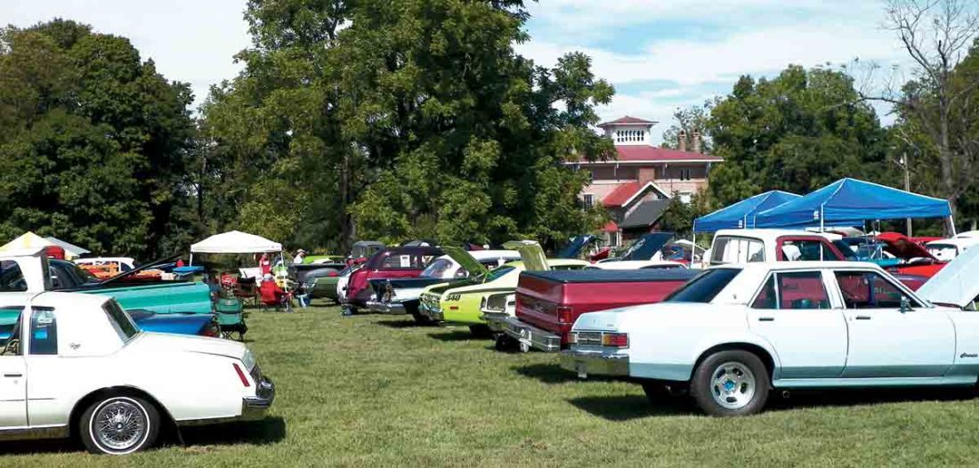 Photo Provided The Pioneer Antique Auto Club will hold its annual Henderson Hall Antique Car Show starting 9 a.m. Saturday. Admission is free.
