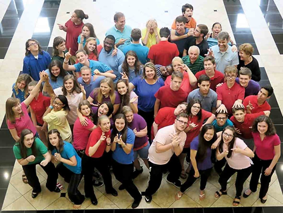 Photo Provided The Experience Touring Choir from Christ Lutheran Church in Charlotte, N.C., will perform  during the 10 a.m. service June 18 at First Lutheran Church, located at 1701 19th St.
