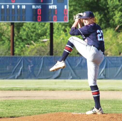 Photo by Joe Albright Parkersburg South's Dalton Wiggins made his decision on Monday afternoon to continue his baseball career for the Pioneers of Marietta College.