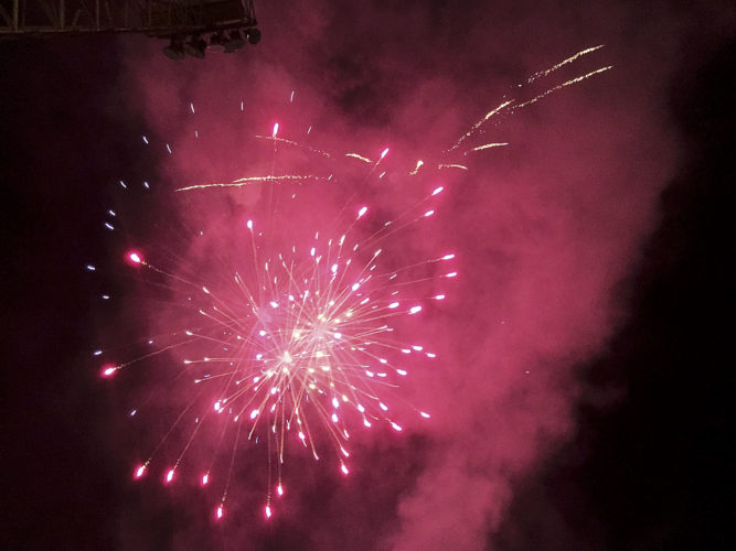 File Photo Fireworks are planned at several locations on July 4, including Beverly, Parkersburg and Ripley, among others.