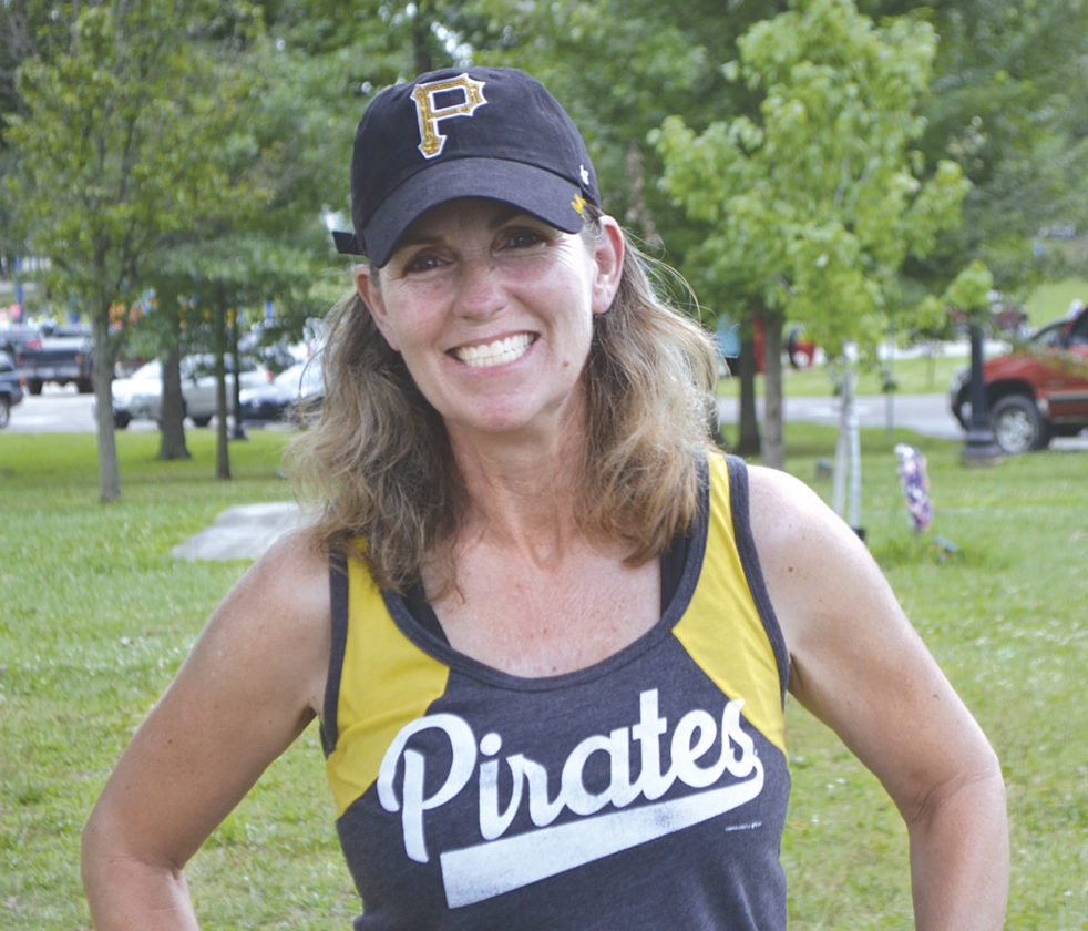 Williamstown resident Celeste Benson will be running in her 11th Parkersburg News and Sentinel Half Marathon this August. Photo by Jordan Holland.