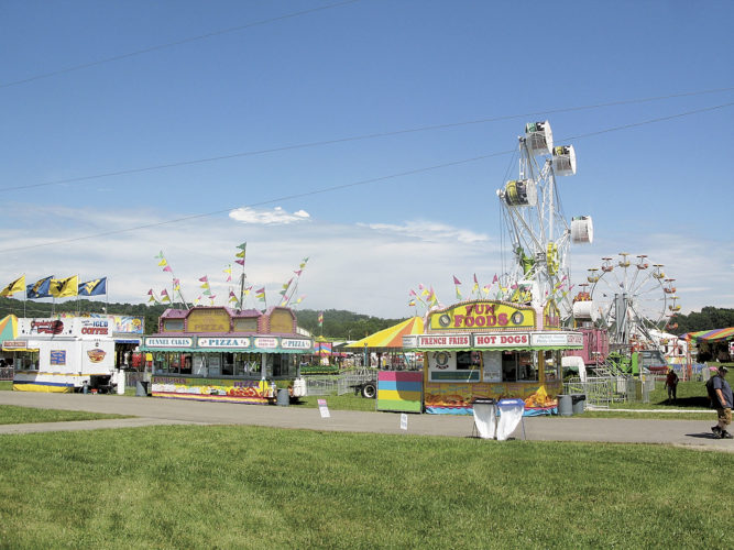 File Photo A variety of carnival rides and games will be provided by Gambill Amusements during the 2017 West Virginia Interstate Fair and Exposition on Butcher Bend Road at Mineral Wells. This year's fair runs from July 18-22.
