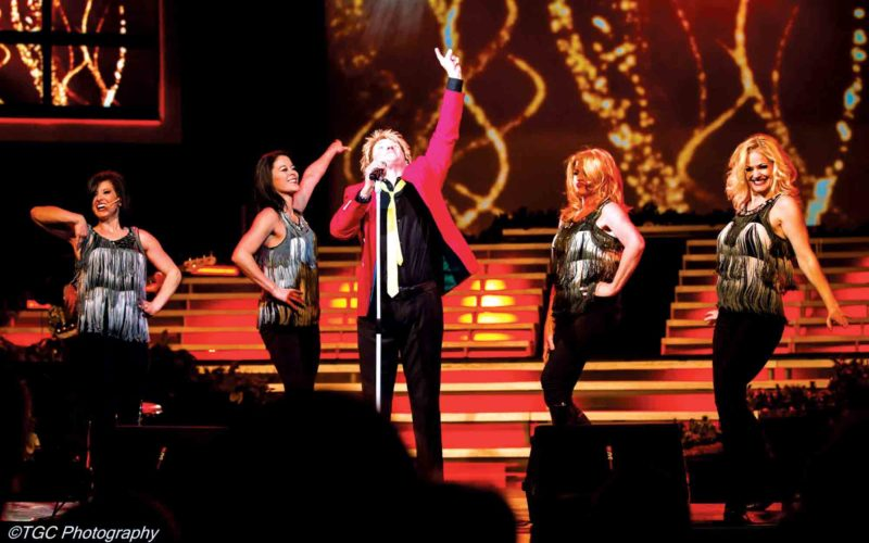 Photo Provided Rob Caudill and The Tonight's The Night Band, a Rod Stewart tribute, will perform at 8 p.m. Friday at the Point Park Amphitheatre in downtown Parkersburg.