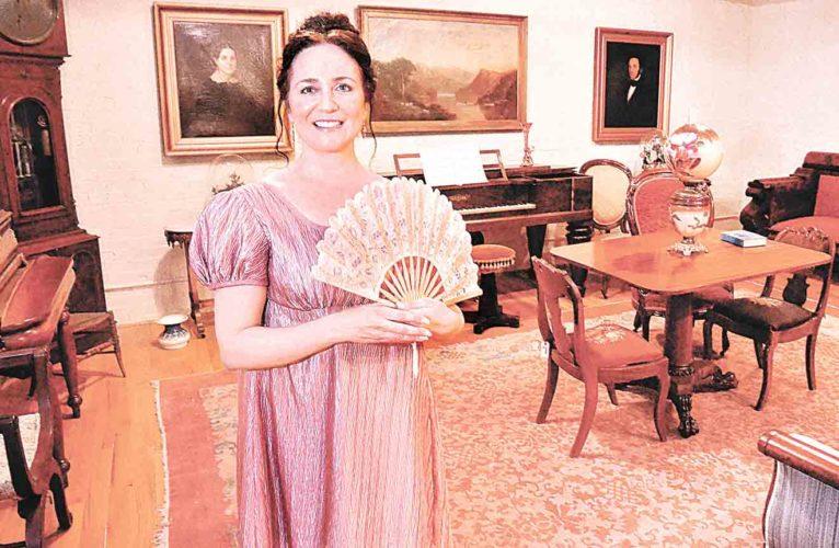 """File Photo Carolina Alvarez will portray Margaret Blennerhassett for a """"Brunch with Margaret"""" on Aug. 17 on Blennerhassett Island Historical State Park."""