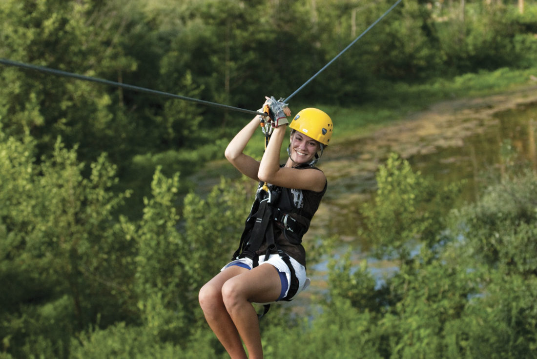 Photos provided by The Wilds Zipline tours are also available at the park.