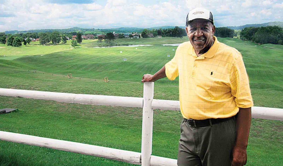 Bill Neal, owner and general manager of Woodridge Golf Club, has been inducted into the African American Golfers Hall of Fame. (Photo by Wayne Towner)