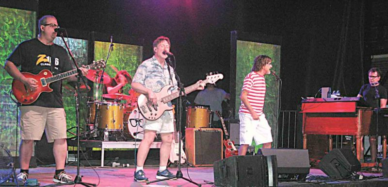 Photo by Jeffrey Saulton Closing out the 2017 Parkersburg Homecoming Festival's entertainment lineup was Donnie Iris and The Cruisers on the main stage.