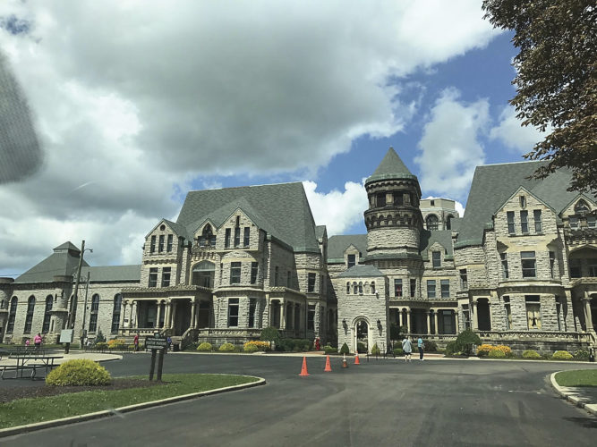 The Ohio State Reformatory in Mansfield, Ohio.