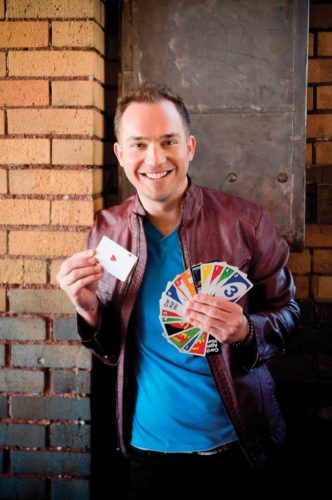 Photo Provided Comedian Michael Kent will perform at 8 p.m. Sept. 22 at the Peoples Bank Theatre in Marietta in a production co-sponsored by the theater and Marietta College Pioneer Activities Council.