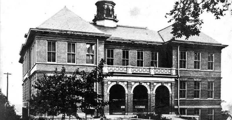 Photo provided by Jeff Little Situated on Ann Street, just above 13th, Nash School was completed c. 1902-03.  Originally named for early Parkersburg educator John C. Nash, for a period of time the name of the school was changed to Willard.  In 1909 it again became Nash School.