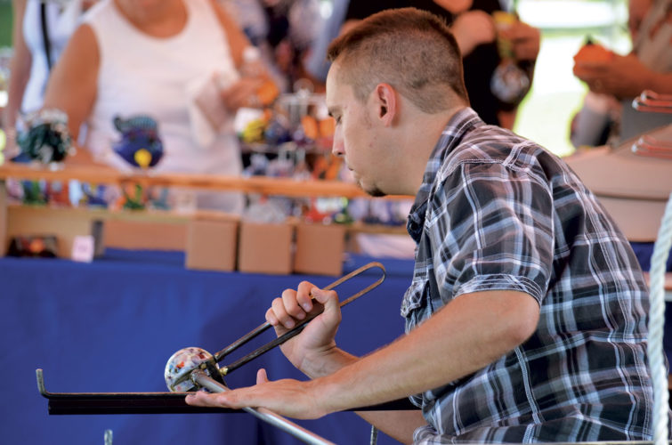 Photo Provided Demonstrations of various crafts are a popular part of the Mountain State Art and Craft Fair.