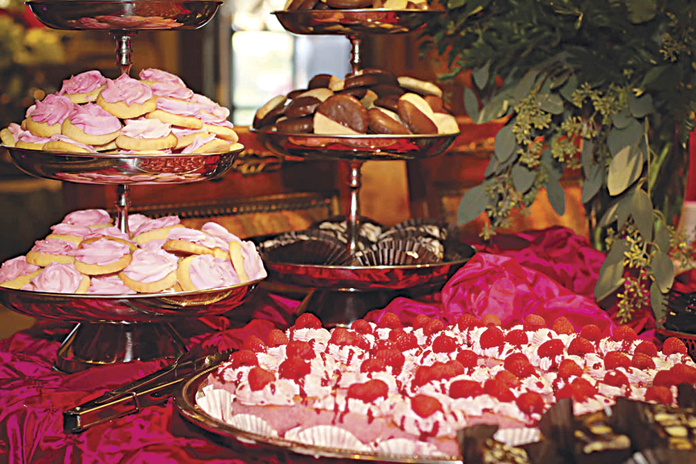 Photo by Tim Turner These desserts by Lisa's Sweet Shop were provided for Pink by Poolside.