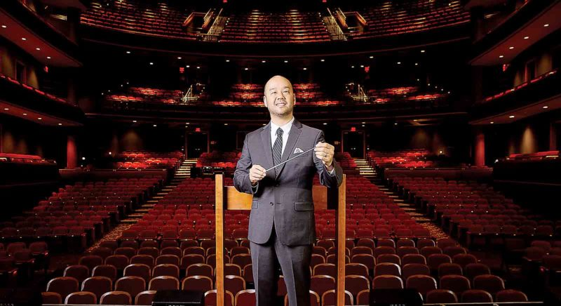 Lawrence Loh has been named the new musical director and conductor for the West Virginia Symphony Orchestra and will be making his first appearance in Parkersburg at 3 p.m. Sunday at Blennerhassett School, which serves as the symphony's second home. (Photo Provided)