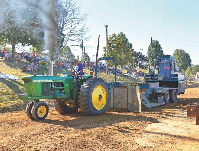 File Photo Tractor pulls are always a big hit at the Barlow Fair.