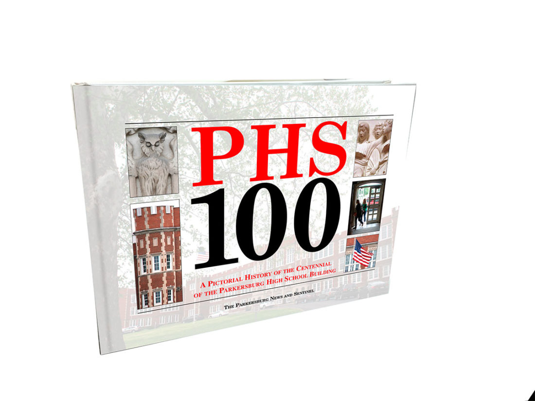 """PHS 100"" by The Parkersburg News and Sentinel is now on sale and available several ways. The book can be pre-ordered online at newsandsentinel.com, by an order form in the daily newspaper or in-person at the newspaper office at 519 Juliana St. Save $5 by ordering before Dec. 1."