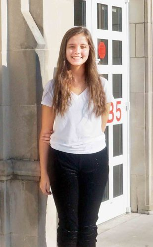 Parkersburg High School senior Anna Fatta is this week's Teen of the Week. Fatta has a love of both science and art, excelling at chemistry, dance and writing. (Photo by Michael Erb)