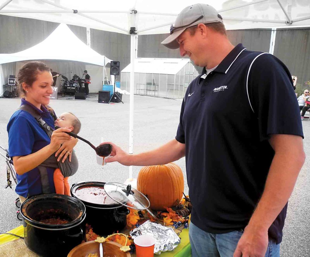 File Photo The Great Bowls of Fire Chili Cookoff will be held from 2-5 p.m. Saturday.